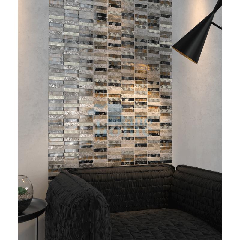 Mosaico decorativo de pared Bañohome
