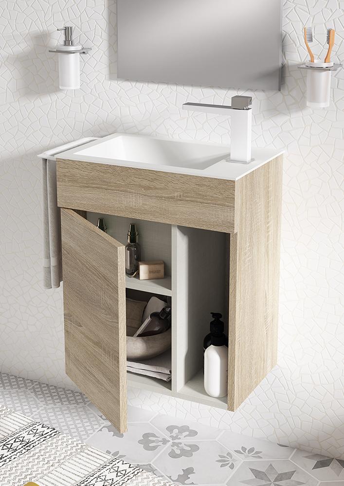Muebles de baño reducido